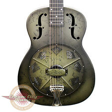 Brand New National NRP B-Series Black Rust Resophonic Resonator Guitar