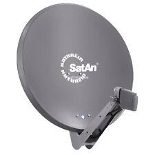 Kathrein CAS 80 Sat Alu Spiegel Antenne Graphit & UAS 585 Quad LNB