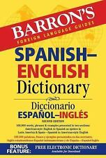 BARRON'S SPANISH-ENGLISH DICTIONARY (9781438007 - URSULA MARTINI (PAPERBACK) NEW