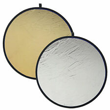 DynaSun Faltreflektor 2in1 100cm Zusammenfaltbarer Reflektor in 2 Farben