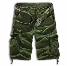 Bermuda Men Camo Cargo Sport Shorts Army Military Camouflage Board Combat Shorts