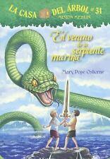 Magic Tree House Spanish: El Verano de la Serpiente Marina (Summer of the Sea...