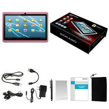 "7"" inch Android 4.4 Quad Core Tablet PC MID 1.2GHz Dual Camera Wifi Pink"