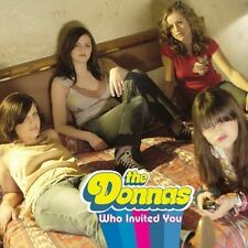 Who Invited You Donnas MUSIC CD