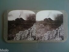 STC270 Italie Vesuva Vesuve volcan lave stereoview photo STEREO Vintage ancien