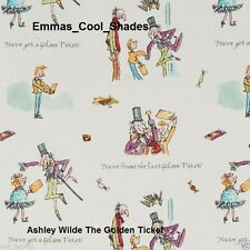 New Handmade Lampshade  Ashley Wilde The Golden Ticket Fabric Roald Dahl Charlie