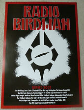 Radio Birdman - Europe 2003    SCARCE MUSIC TOUR POSTER