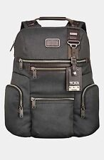 $595 Tumi Men BLUE Backpack Diligence Virtue SCHOOL WORK TRAVEL LAPTOP Brief BAG