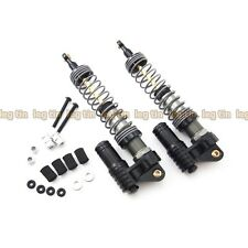 Alloy Piggyback Shock Set (1pair) BLK for Axial SCX10 Dingo & Honcho [LT10221bk]