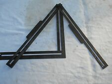 Extremely Rare Circa 1854 J. Shanklin Adjustable Combination Square & Gauge Tool