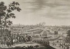 Entrée des Français dans Moskou 1812 Napoléon Bonaparte Révolution 1850