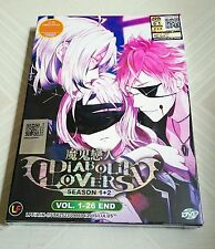 DIABOLIK LOVERS The Complete Anime TV Season 1 & 2 Ep.1 - 24 End DVD Box Set