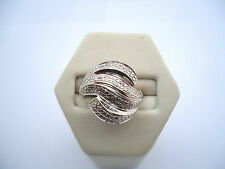 BELLE BAGUE EN OR 18K DIAMANTS or 18 carats