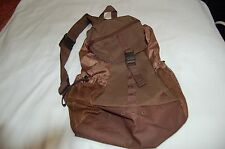 New Adidas Brown Polyester One Shoulder Bag BackPack One Size