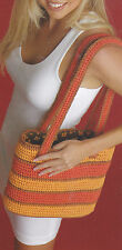 Crochet Pattern ~ BEAUTIFUL TOTE BAG, Purse ~ Instructions