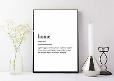 quote life poster picture print home definiton dictionary