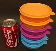 New Limited Tupperware Small Handy Round Bowl Container Storage Set 170ml (6)