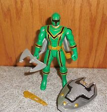 Power Rangers Mystic Force Light Force GREEN RANGER Complete Bandai Figure