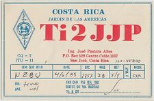 QSL CARD Amateur Radio 1988 COSTA RICA Central America
