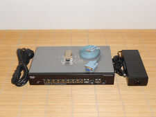 Cisco SF302-08P as Linksys SRW208P-K9 8-port 10/100 PoE + 2x Gbit Managed Switch