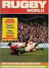 RUGBY WORLD MAGAZINE APRIL 1985 - PERFECT GIFT FOR A FAN BORN IN THIS MONTH