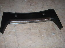 1999-2005 VOLKSWAGEN JETTA CHROME TRUNK LATCH TRIM  BLACK AND CHROME OEM