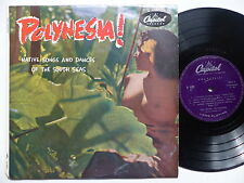 Polynesia ! Native songs and dances of the South seas H 483 Sexy nude cover