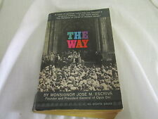The Way - Monsignor Jose M. Escriva Spiritual Rules Classic Catholic Religion