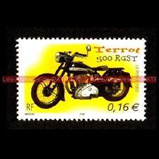 TERROT 500 RGST - FRANCE Moto Timbre Poste