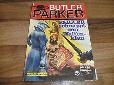 BUTLER PARKER  # 339 -- PARKER SCHNAPPT den WAFFENKLAU !! // 1. Auflage 1987