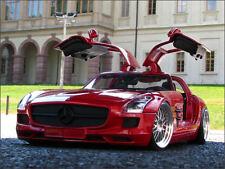 1:18 Tuning Mercedes 6.2L V8 SLS AMG mit BBS Echt-Alu-Felgen inkl. OVP