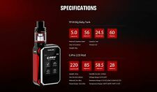SMOK G-PRIV | 220W TOUCH SCREEN KIT IN WITH NEW BIG BABY TANK