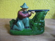 FIGURINE   DC DOMAGE & COMPAGNIE COMPOSITION COW BOY TIREUR A GENOUX