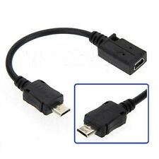 5 Pin Female To Micro 5 Pin Male Adapter Data Cable Converter USB 2.0 A hot 1pcs