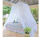 Classic Resort Style King Size White Mosquito Net or Bed Canopy Fits All Beds