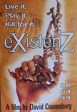"40x60"" HUGE SUBWAY POSTER~eXistenZ 1999 Movie Jude Law Jennifer Jason Leigh NOS~"