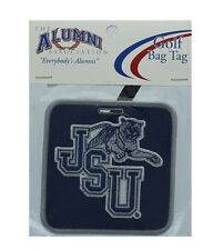 NEW! Jackson State University Tigers Golf Bag Tag Embroidered Luggage Tag - JSU