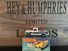 matchbox superfast no.57C Rare Stribes Version mint 1981 OVP excellent 1975