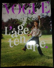 Vogue Paris Enfants 2003 Bambini Kids children Florence Mars Margherita Missoni