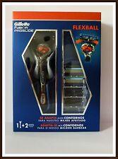 Gillette Fusion PROGLIDE FLEXBALL Rasierer mit 3 x Rasierklingen + Seriennummer