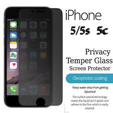 Genuine Tempered Privacy Glass Anti-Spy Screen Protector For iPhone 5  5s  5C