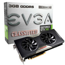 EVGA GeForce GTX 780 CLASSIFIED (3072 MB) Nvidia Grafikkarte 03G-P4-3788-KR