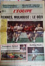 L'Equipe Journal 29/3/1989; Paris-Camenbert/ Mondial 98/ Plaziat/ Gatien/ Herber