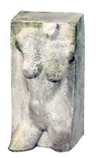 Nude Female Torso Garden Sculpture Block 30.5""