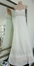 Divided by H&M maxi dress.Sz8.Soft beach sand yellow,fine cotton.Lined.VGC