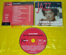 CD - JAZZ COLLECTION  Carmen McRae Sings Great American Songwriters •••• USATO