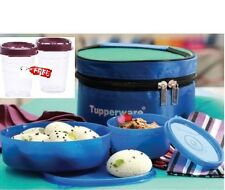 Tupperware Classic Lunch Box with Bag and 2 pieces midget set