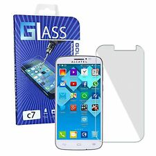 Quality Tempered Glass Screen Protector Film Guard For Alcatel One Touch Pop C7