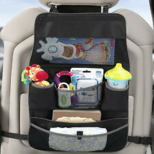 BNIB Backseat & Stroller Organizer Car Seat Back Cover Protector Colour Black