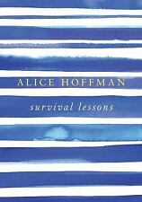 Survival Lessons, Hoffman, Alice, Good Condition, Book